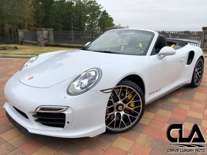 2015 Porsche 911 Turbo S The Woodlands TX