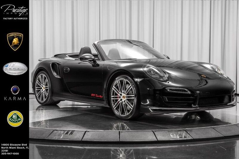 2015 Porsche 911 Turbo Turbo North Miami Beach FL