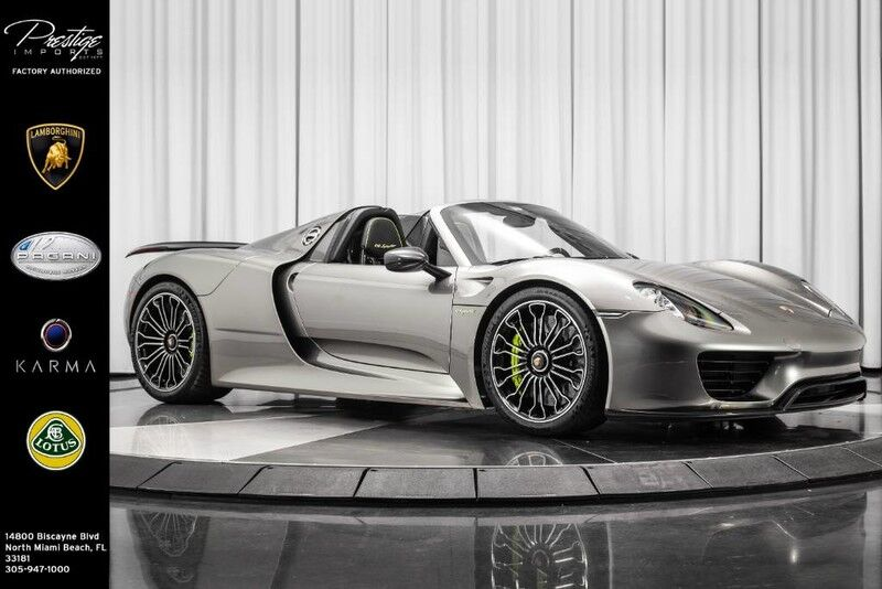 2015 Porsche 918 Spyder  North Miami Beach FL