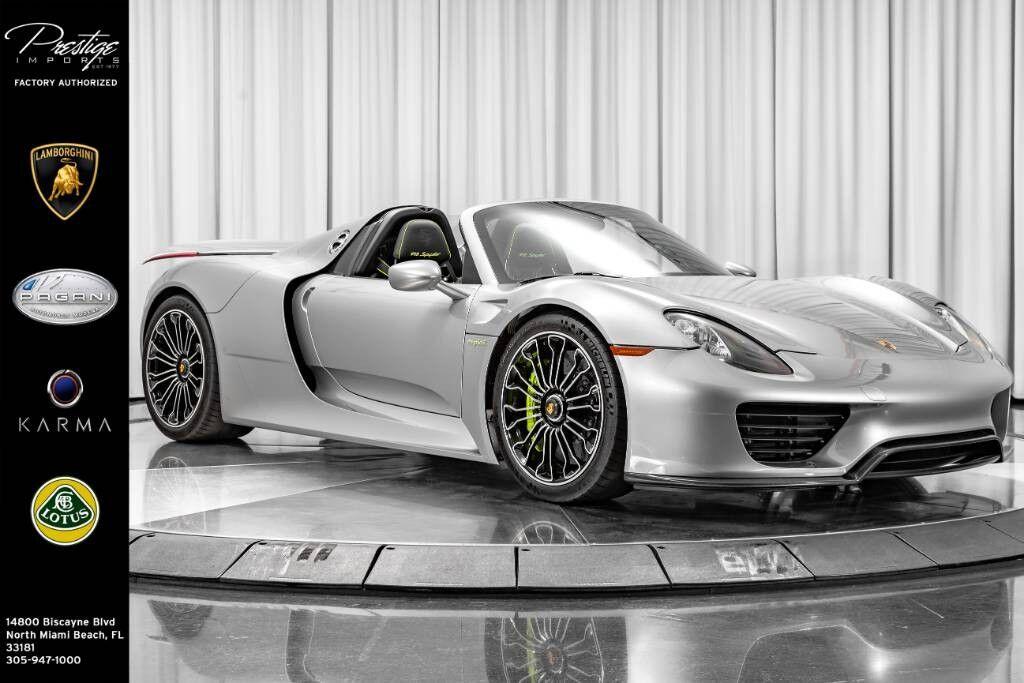 2015_Porsche_918 Spyder__ North Miami Beach FL