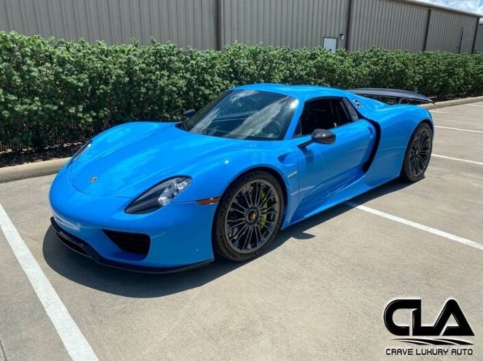 2015 Porsche 918 Spyder  The Woodlands TX