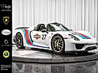 2015 Porsche 918 Spyder Martini Livery  North Miami Beach FL