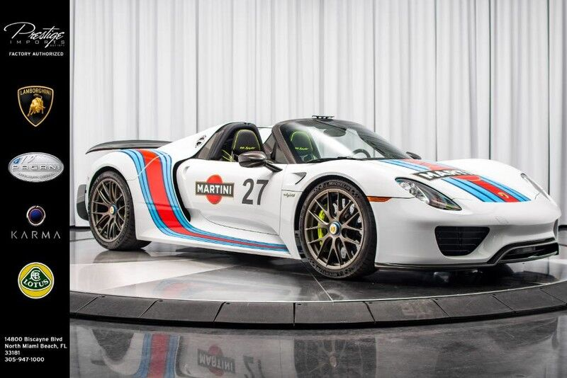 2015_Porsche_918 Spyder_w/Weissach Pkg_ North Miami Beach FL