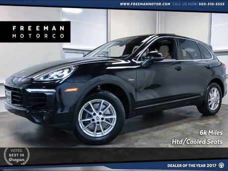 2015_Porsche_Cayenne_AWD Diesel Just 6K Miles Htd/Cooled Seats_ Portland OR