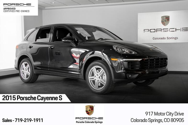 2015 Porsche Cayenne Cayenne S Colorado Springs CO