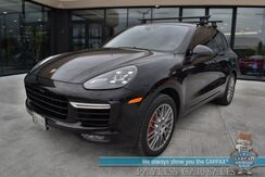 2015_Porsche_Cayenne_Turbo / AWD / 4.4L Twin Turbo V8 / Heated & Cooled Leather Seats / Navigation / BOSE Speakers / Sunroof / Bluetooth / Back Up Camera / Cruise Control / Tow Pkg / Luggage Rack / 21 MPG_ Anchorage AK