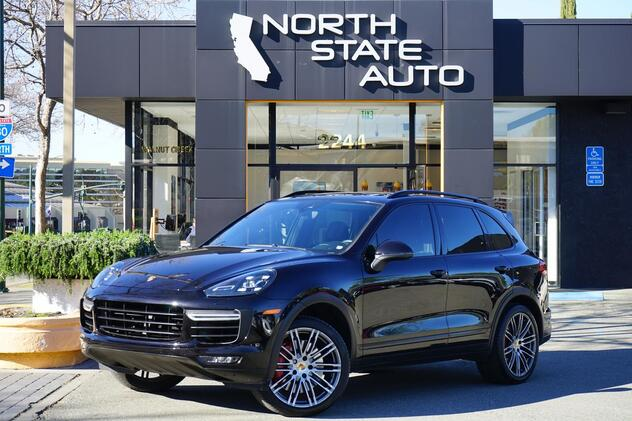 2015_Porsche_Cayenne_Turbo_ Walnut Creek CA