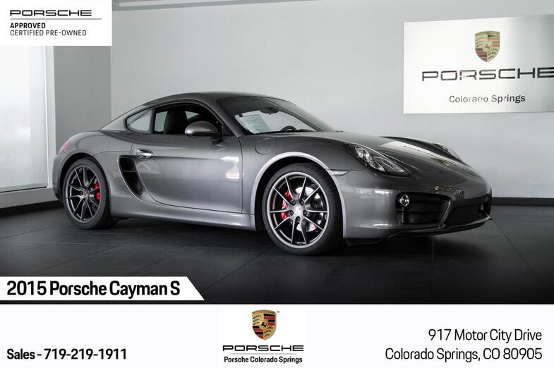 2015 Porsche Cayman Cayman S Colorado Springs CO