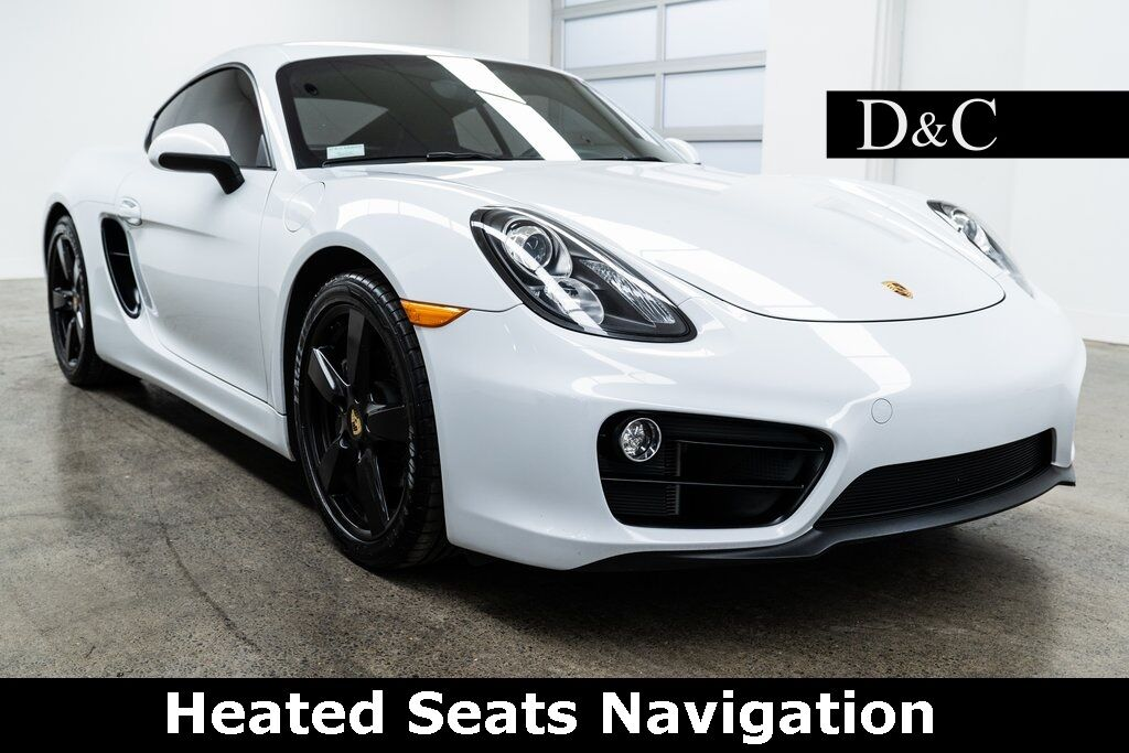 2015 Porsche Cayman Heated Seats Navigation Portland OR
