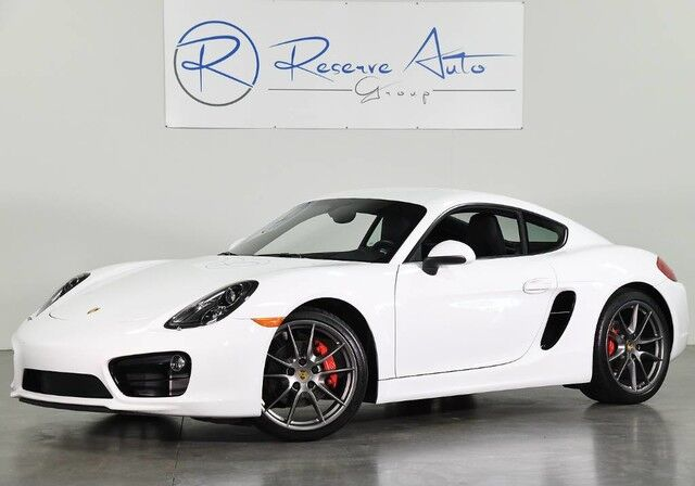 2015 Porsche Cayman S Infotainment Pkg Premium Pkg A/C Seats PDLS The Colony TX