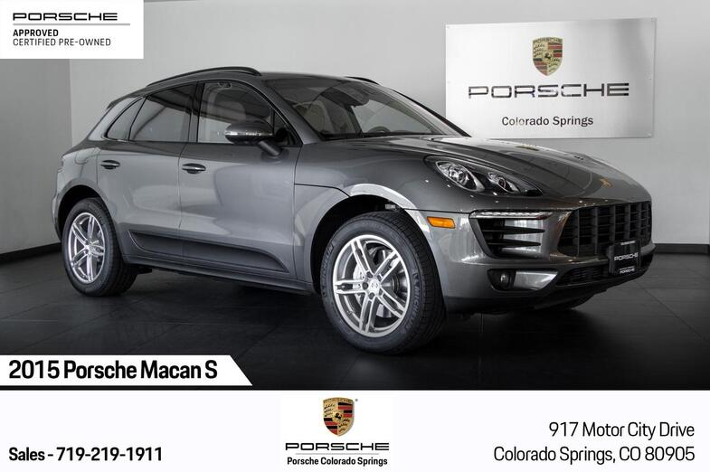 2015 Porsche Macan Macan S Colorado Springs CO