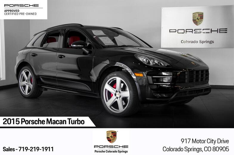 2015 Porsche Macan Macan Turbo Colorado Springs CO