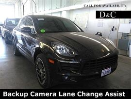 2015 Porsche Macan S Backup Camera Lane Change Assist