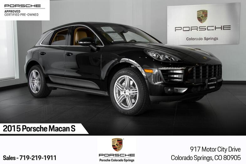 2015 Porsche Macan S Colorado Springs CO
