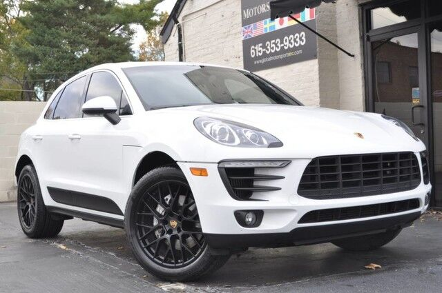 2015 Porsche Macan S/Premium Package Plus w/ Heated & Ventilated Seats, Panoramic Roof, Bi-Xenon Headlights w/ PDLS, Bose Audio/PCM w/ Navigation/Park Assist w/ Surround View & Lane Change Assist/Comfort Lighting Pkg/20'' Wheels Nashville TN