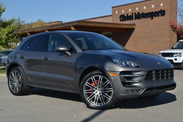 2015 Porsche Macan Turbo/400 HP/$82,360 MSRP/4X4/21'' 911 Turbo Design Wheels/Black High Gloss Trim/Blind Spot Monitor/Lane Departure/Premium Plus Pkg/Suede Headliner/Nav/Rear View Cam/Htd-AC Sts Nashville TN
