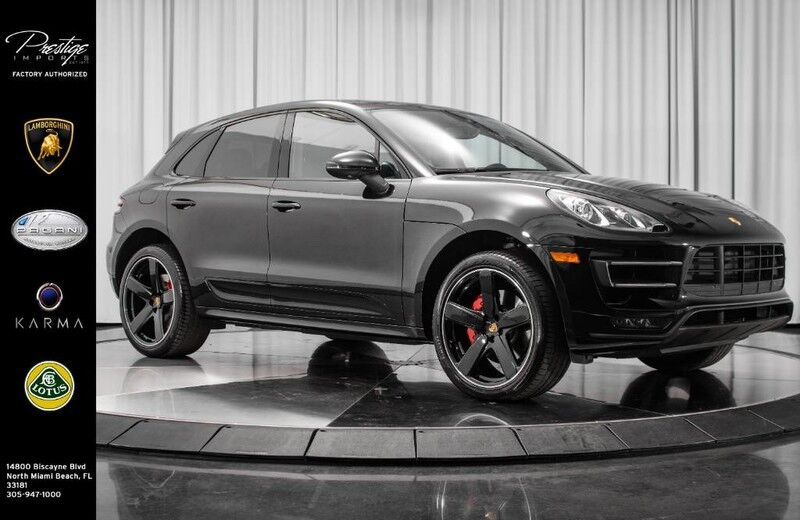 2015_Porsche_Macan_Turbo_ North Miami Beach FL