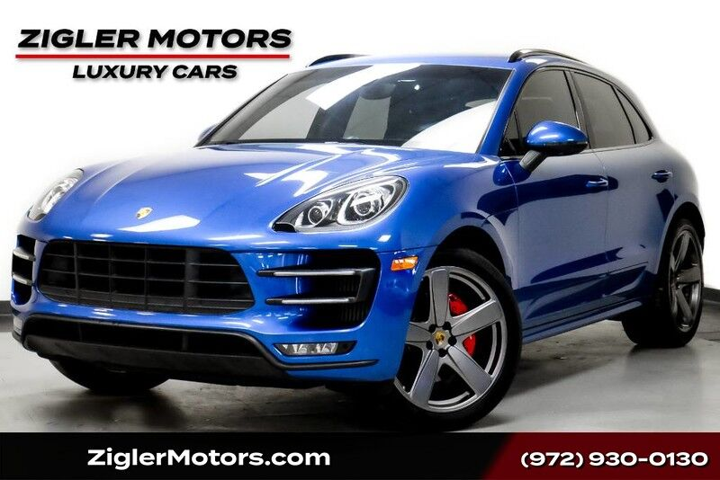 2015 Porsche Macan Turbo Sport Chrono 21 Wheels 18 Way Adaptive seats