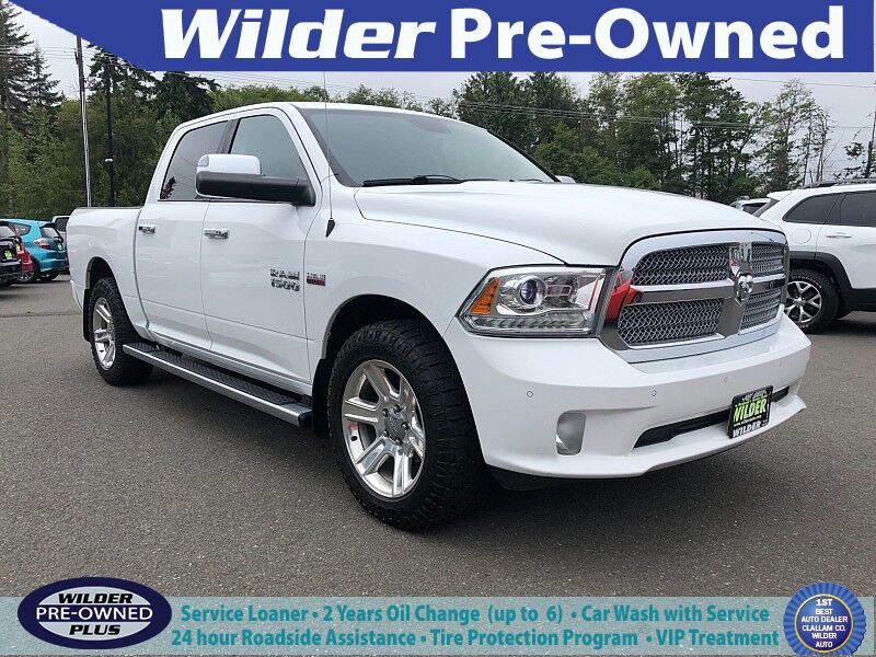 2015 Ram 1500 4WD Crew Cab Longhorn Limited Port Angeles WA