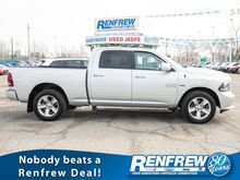 2015_Ram_1500_4WD Sport, Navigation, Bluetooth, SiriusXM, Remote Start_ Calgary AB
