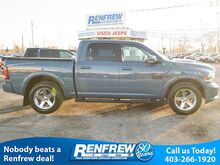 2015_Ram_1500_4WD Sport, Sunroof, Nav, Backup Camera, Remote Start, Heated Leather_ Calgary AB