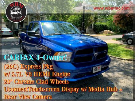 2015_Ram_1500_4x4 Quad Cab Express_ Arlington VA