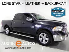 Ram 1500 Crew Cab Lone Star *BACKUP-CAMERA, TOUCH SCREEN, LEATHER, BED LINER, TOW PKG, 20 Inch WHEELS, BLUETOOTH PHONE & AUDIO 2015