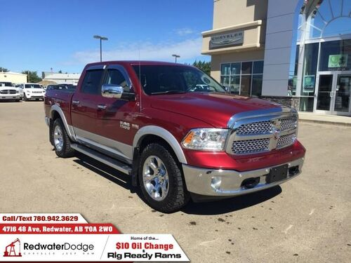 2015_Ram_1500_Laramie  - Leather Seats -  Cooled Seats - $210.07 B/W_ Redwater AB