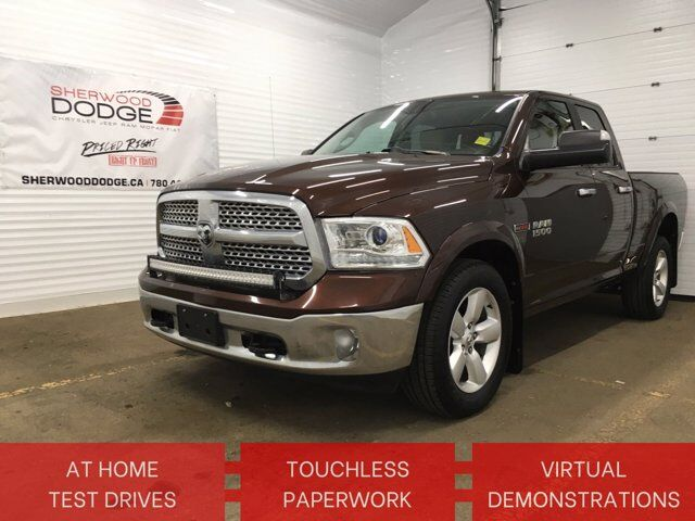 2015 Ram 1500 Laramie V6 DIESEL | HTD/COOL LEATHER | CLN CARFAX