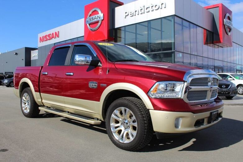 2015 Ram 1500 Longhorn, Auto, w/ Navigation, Heating and Cooling Front Seats Kelowna BC