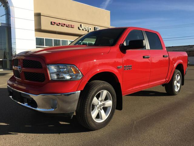 2015 Ram 1500 Outdoorsman 4x4-Leather-27,000 KMS Redwater AB