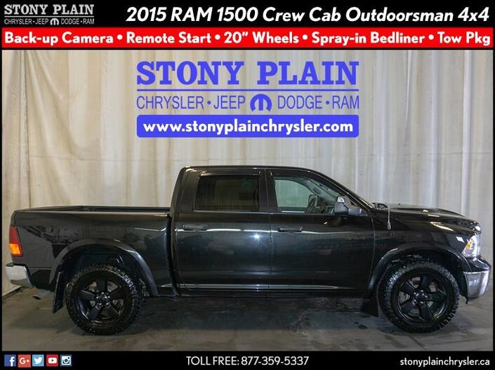 2015 Ram 1500 Outdoorsman Stony Plain AB