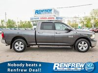 Ram 1500 SLT EcoDiesel 4x4, Bluetooth, SiriusXM, Backup Camera 2015