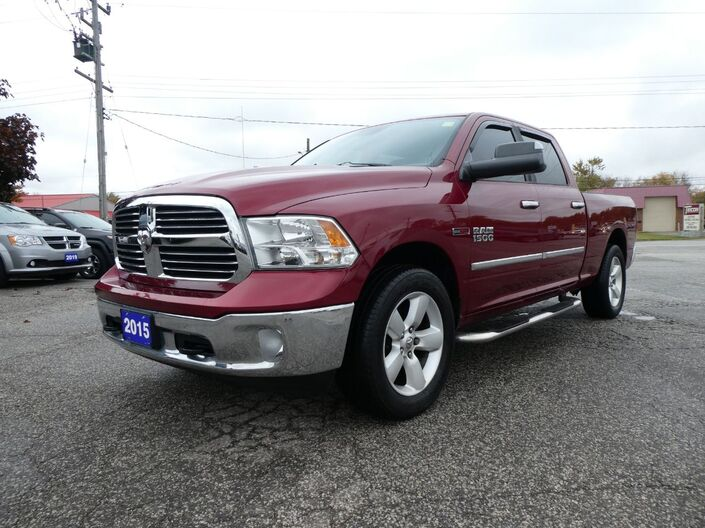 2015 Ram 1500 SLT Heated Seats Heated Steering Back Up Cam Essex ON