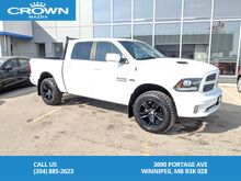 2015_Ram_1500_SPORT 5.7L HEMI 4WD *Remote Starter/All Terrain Tires/Spray In Liner*_ Winnipeg MB