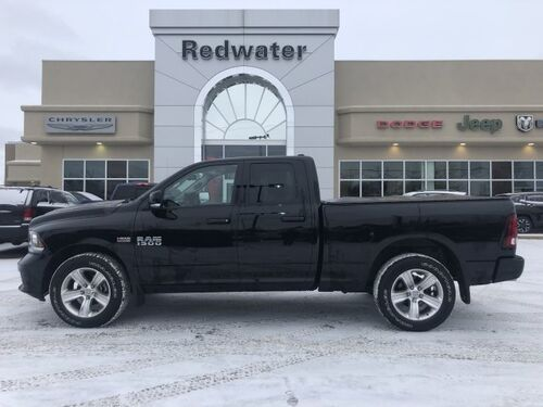 2015_Ram_1500_Sport - 5.7L Hemi Engine - Heated Seats - Heated Steering Wheel - Low Km's_ Redwater AB