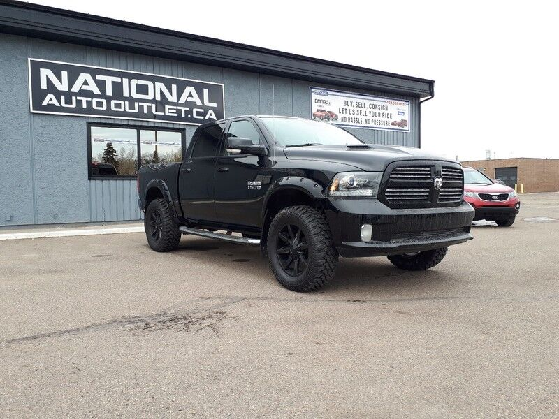 2015 Ram 1500 Sport - CLEAN CAR PROOF, NAVIGATION, HEATED STEERING WHEEL Lethbridge AB