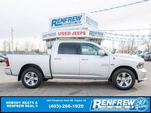 2015_Ram_1500_Sport Crew Cab 4x4, Remote Start, Heated Seats, Backup Camera_ Calgary AB