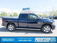 Ram 1500 Sport Crew Cab 4x4, Sunroof, Nav, Remote Start, Cooled/Heated Leather 2015