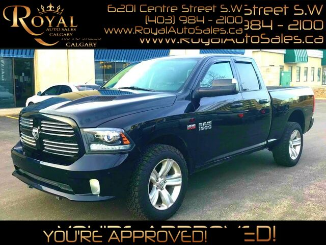2015_Ram_1500_Sport LEATHER, HEATED SEATS, TOUCHSCREEN_ Calgary AB