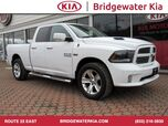 2015 Ram 1500 Sport Quad Cab 4WD, Navigation, Rear-View Camera, Bluetooth Technology, Heated Steering Wheel, Heated Leather-Trimmed Seats, Power Sunroof, Running Boards, 20-Inch Alloy Wheels,