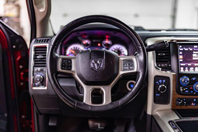 2015 Ram 2500 4x4 Crew Cab Laramie Diesel Leather Nav BCam Red Deer AB