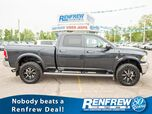 2015 Ram 2500 Laramie Crew Cab 4x4, Bluetooth, Remote Start, Backup Camera, SiriusXM, Cooled/Heated Leather, Fuel Wheels