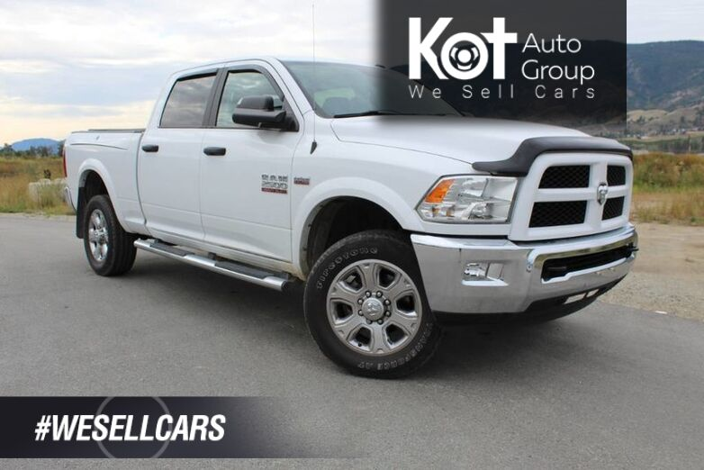 2015 Ram 2500 Outdoorsman, Low Km's, Heated Front Seats, Tonneau Cover Kelowna BC