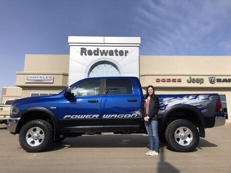2015 Ram 2500 Power Wagon - 6.4L Hemi - Heated Seats and Steering Wheel - Nav - Park Assist System - One Owner Redwater AB