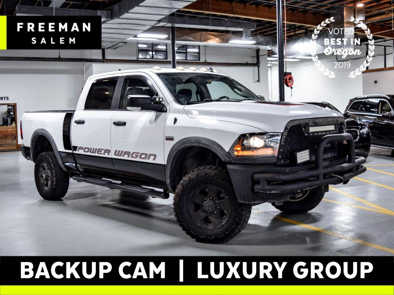 2015 Ram 2500 Power Wagon 4X4 Luxury Group Backup Cam Salem OR