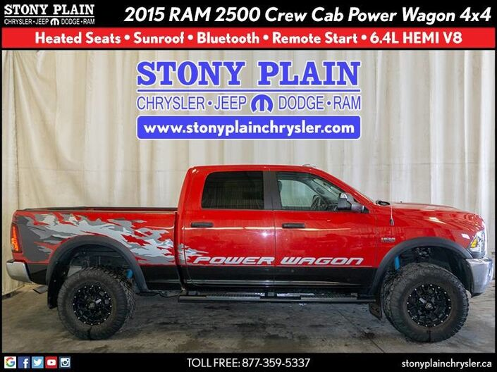 2015 Ram 2500 Power Wagon Stony Plain AB