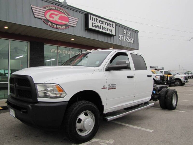 2015 Ram 3500 4x4 Diesel Cab & Chassis Tradesman Collinsville OK