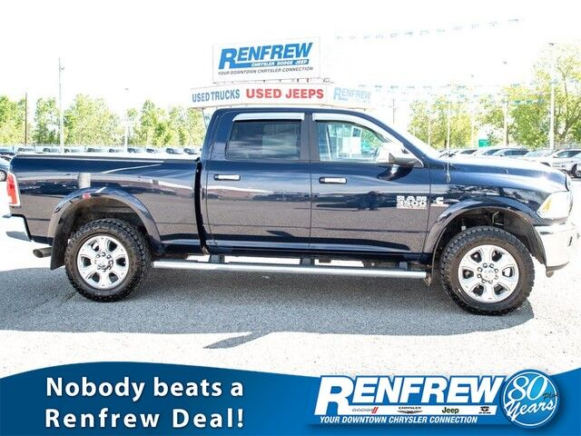 2015 Ram 3500 Laramie 4x4, Sunroof, Nav, Cooled/Heated Leather, Bluetooth, Backup Camera, SiriusXM Calgary AB