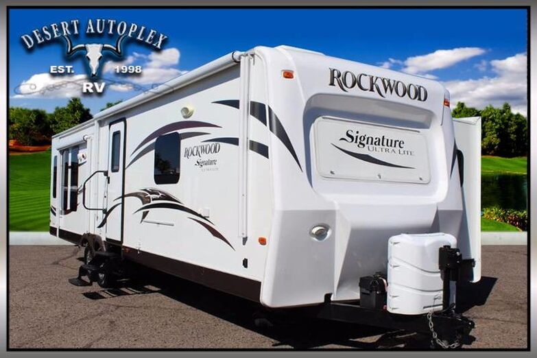 2015 Rockwood Signature Ultra Series 8329SS Triple Slide Travel Trailer Mesa AZ